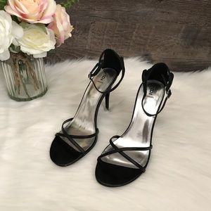 Bakers Blair black high heel sandals